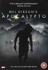 Apocalypto DVD Rudy Youngblood Mel Gibson New and Sealed Original UK Release R2
