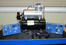 Best Seller ! AS 186 Air brush Compressor & 2 Airbrush units  (Ref: AS186SET)