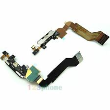 CHARGE CHARGER PORT CONNECTOR FLEX CABLE RIBBON FOR IPHONE 4S BLACK #C-53