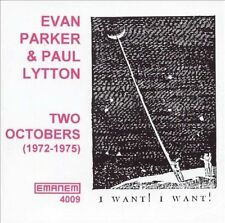 Two Octobers (1972-1975) by Paul Lytton / Evan Parker (CD, Sep-1996, Emanem)