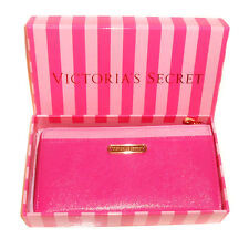 NEW Genuine VICTORIA'S SECRET Pink Zip Around Purse Wallet - Gift Boxed