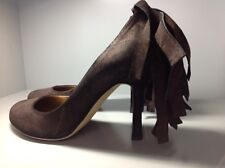 womans Dsquared2 brown shoes size 38.5