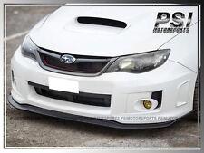 2011-2012 Subaru Impreza WRX / STI VR-Style Front Bumper Lip Carbon Fiber CF