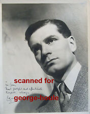 LAURENCE OLIVIER - 8X10 - INSCRIBED - LETTERS - AUTOGRAPH - 1946 - VIVIEN LEIGH