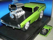 70 CUDA FROM BUILD IT KIT LITE GREEN 1/64 & 1/18 SCALE CARS  MUSC.MACH.MIB1:18