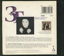 3T I Need You 2 tr CARD SLV CD SINGLE MICHAEL JACKSON