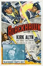 Blackhawk - Cliffhanger Movie Serial DVD  Kirk Alyn