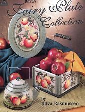 Fairy Plate Collection Decorative Tole Painting Book by Ritva Rasmussen