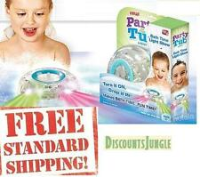 NEW PARTY IN THE TUB LIGHT BATH TIME LIGHT SHOW AS SEEN ON TV WATER TIGHT SAFE