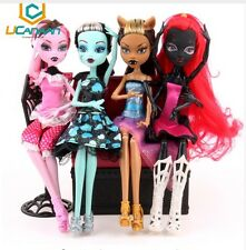 """IDEA REGALO"" BARBIE BAMBOLE MONSTER ULTIMA MODA BAMBOLE MOSTRO SET LOTTO STOCK"