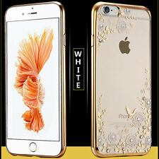 Girl Floral Diamond Protect Phone Case Cover Shell For iphone6s/6s Plus 7/Plus