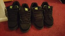 SIZE 13, Skated trashed DC SHOE CO MEN'S DC Caliber BLACK.  Free shipping