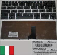 Clavier Qwerty Italien ASUS UL30 NSK-UC30E 9J.N1M82.30E 0KN0-FS1IT03 Noir