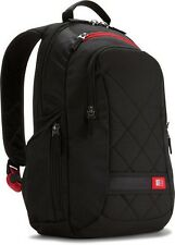 "Case Logic 14.1"" Laptop Notebook Rucksack Backpack Case DLBP114 Black BRAND NEW"
