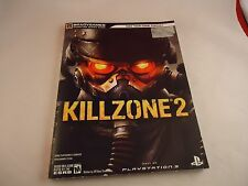 Killzone 2 Strategy Guide Player's Book Playstation 3 PS3 Kill Zone