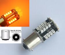 44 SMD LED 581 BAU15S 1156 PY21W INDICATOR BULB ORANGE AMBER CANBUS ERROR FREE