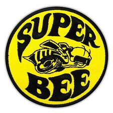 Super Bee Charger Racing Car Embroidered Iron Sew On Patch DODGE Coronet Biker