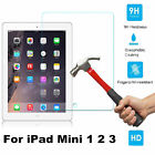 9H Premium Tempered Glass Screen Protector Film For Apple iPad Mini 1 2 3 New