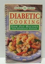 Diabetic Cooking low fat receipes for every day eating (Kraft) Spiral-bound 1995