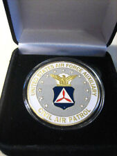 U S AIR FORCE CIVIL AIR PATROL Challenge Coin with Gift Box