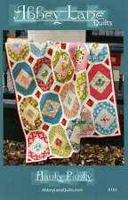 HANKY PANKY QUILT PATTERN, Nice Geometric Pattern From Abbey Lane Quilts NEW