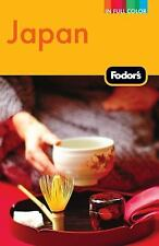 Fodor's Japan (Full-color Travel Guide)-ExLibrary