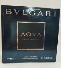 Bvlgari AQVA POUR HOMME Cologne for Men 3.4 oz NEW IN BOX SEALED