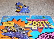 Zbots Turbonator 3 figure Combiner w/card Micromachines GALOOB Zbot Z-Bots