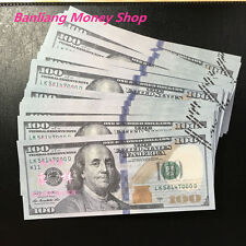 100 Pcs of China Banktells' 1:1 100 Dollars Training Banknotes/ Paper Money/ UNC
