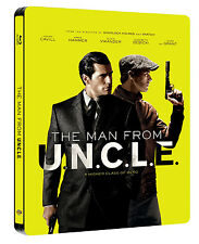 The Man from U.N.C.L.E. (Uncle) [STEELBOOK] (Blu-ray) (2015) (All Region) (New)
