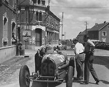 1932 French Grand Prix. Reims Gueux, F1 France 10x8 Photo