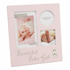 Beautiful Baby Girl Multi Collage Pink Photo Picture Frame NEW  18999