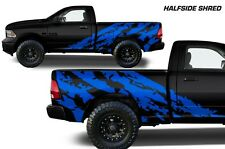 Vinyl Decal Shred Wrap Kit for Dodge Ram 09-14 1500/2500/3500 Midbox Azure Blue