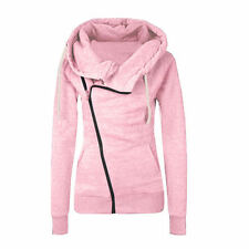 Womens Casual Zipper Hooded Hoodies Sweater Pullover Sweatshirt Coat Jacket Tops