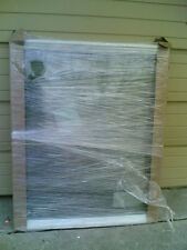 BRAND NEW: Big White Vinyl Home PICTURE WINDOW w/ Double-Strength Glass 45x37