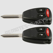 2 New Replacement Remote Keyless Entry Car Key Fob For Charger Dakota Durango