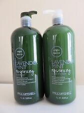 Paul Mitchell Lavender Mint Moisturizing Shampoo/Conditioner 33oz Duo