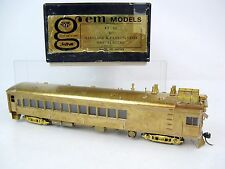 Gem Models HO Brass Maryland & Pennsylvania Gas Electric Locomotive, KT-101
