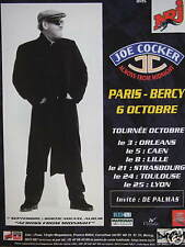 PUBLICITÉ NRJ AVEC JOE COCKER EN CONCERT ACROSS FROM MIDNIGHT PARIS BERCY