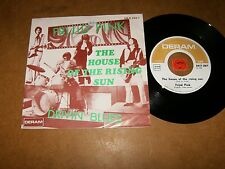 FRIJID PINK - THE HOUSE OF THE RISING SUN - DRIVIN  - 45 PS  / LISTEN - POP ROCK