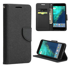 Premium Coach Wallet PU Leather Stand Phone Pouch Case Cover For Google Pixel XL