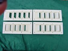 "BOAT VENT LOUVER 14"" BILGE LOUVER SEA RAY MANY OTHERS ! FOUR PACK SPECIAL! SAVE!"