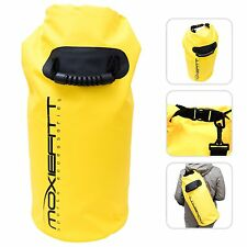 Waterproof Dry Bag Lightweight PVC Pouch Camping Sporting Sack Backpack Yellow