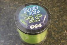 Triple Trik Fish GFG1LB01001 Fishing Green Mono Line 1 LB Spool 10# 6000 Yards