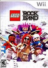 LEGO Rock Band (Nintendo Wii, 2009) Video Game