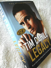 PROOF! TIM CAHILL LEGACY SOCCEROOS EVERTON SIGNED AUTOBIOGRAPHY HARD BACK