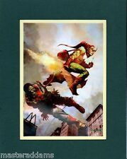 Arthur Suydam AMAZING SPIDER-MAN 39 COVER MATTED PRINT Marvel Zombies