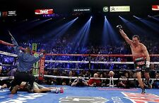 Boxer Juan Manuel Marquez Boxing Knockout of Manny Pacquiao Poster