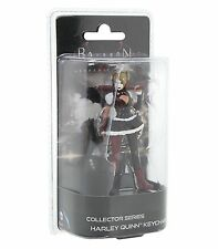 HARLEY QUINN  BATMAN ARKHAM KNIGHT KEYCHAIN Collector Series Figural Key Ring