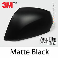 20x30cm FILM Matte Black 3M 1380 M12 New Series Car Wrap Film Vinyle COVERING